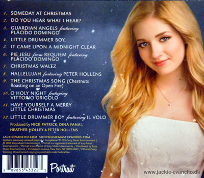 Jackie Evancho Someday At Christmas.Jackie Evancho Someday At Christmas Cd Www Jackie Evancho Dk
